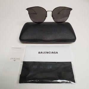 BALENCIAGA EVERYDAY BB0021SK-004 MIRROR SUNGLASSES